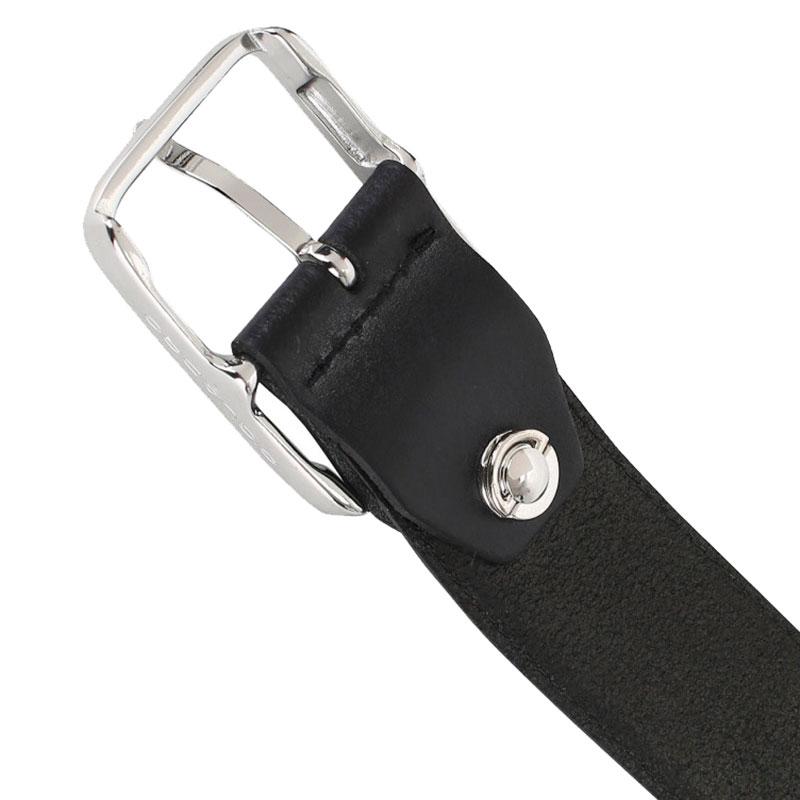 Мужской ремень Piquadro Cintura черного цвета