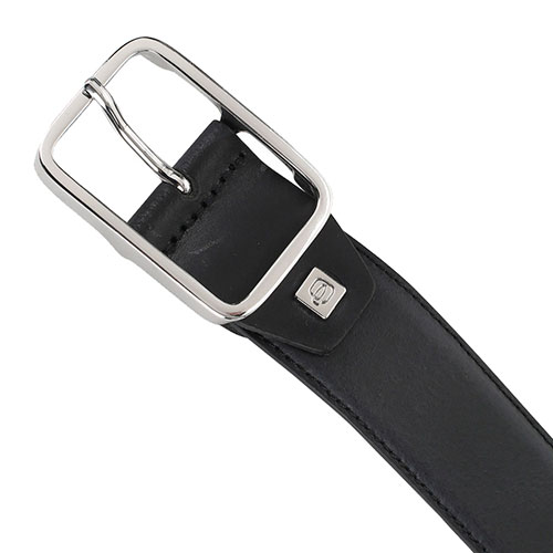 Мужской ремень Piquadro Cintura черного цвета, фото