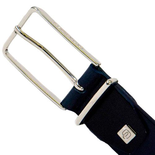Мужской ремень Piquadro Cintura из натуральной кожи синий, фото