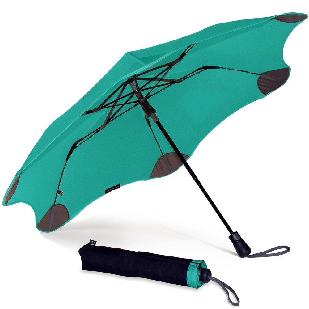 Зонт Blunt XS Metro яркий ментоловый полуавтоматический в два сложения