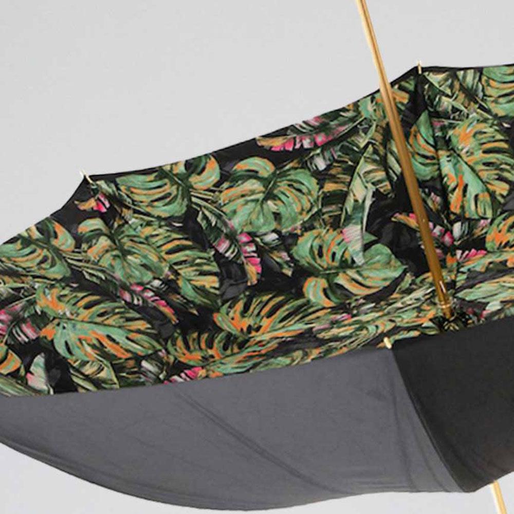 Зонт-трость Pasotti с гравировкой и камнями на ручке
