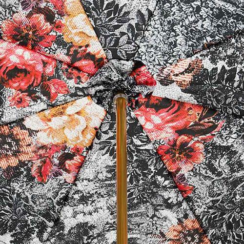 Красный зонт-трость Pasotti с цепочкой, фото