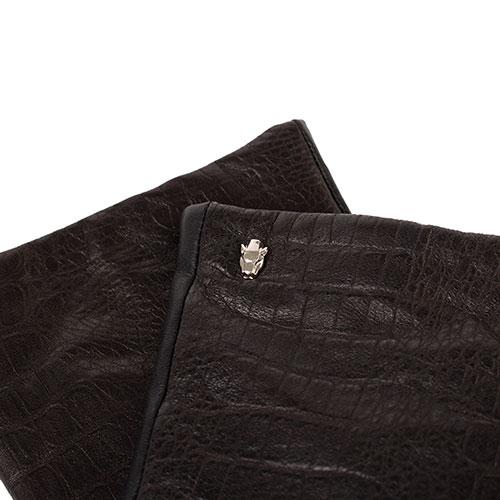 Мужские перчатки Cavalli Class черного цвета, фото