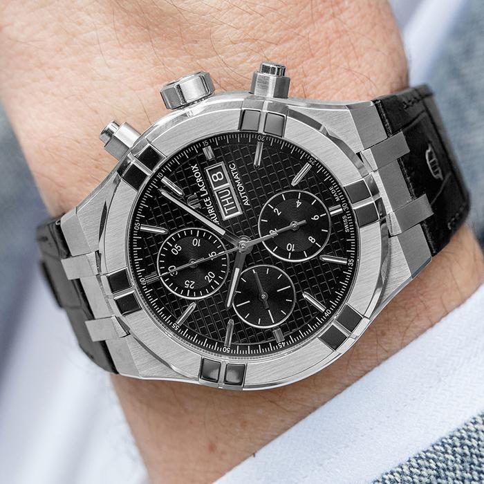 Часы Maurice Lacroix Aikon Automatic AI6038-SS001-330-1