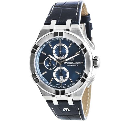 Часы Maurice Lacroix Aikon Chronograph AI1018-SS001-430-1, фото