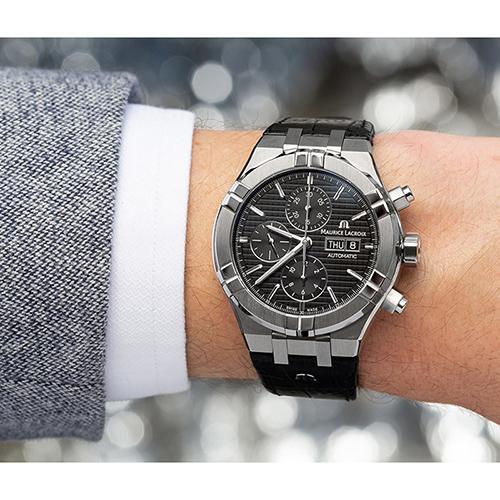 Часы Maurice Lacroix Aikon Automatic AI6038-SS001-330-1, фото