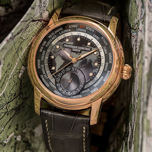 Часы Frederique Constant Worldtimer Manufacture FC-718DGWM4H4, фото