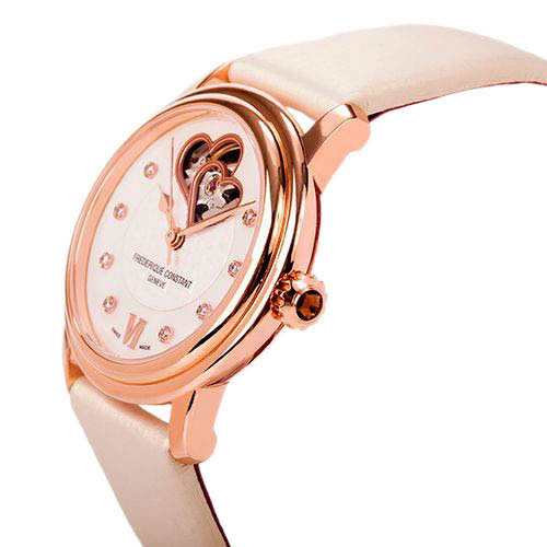 Часы Frederique Constant Ladies Automatic Double Heart Beat FC-310WHF2P4
