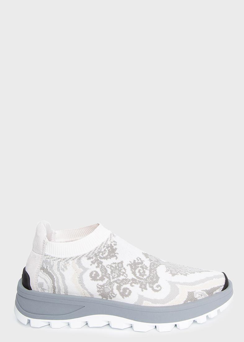 Текстильные кроссовки Etro с орнаментом