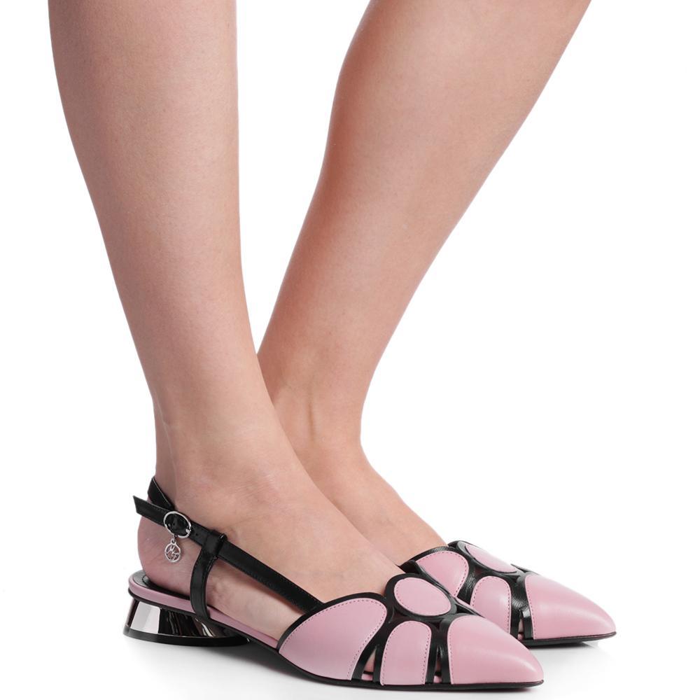Босоножки Marino Fabiani из розовой кожи