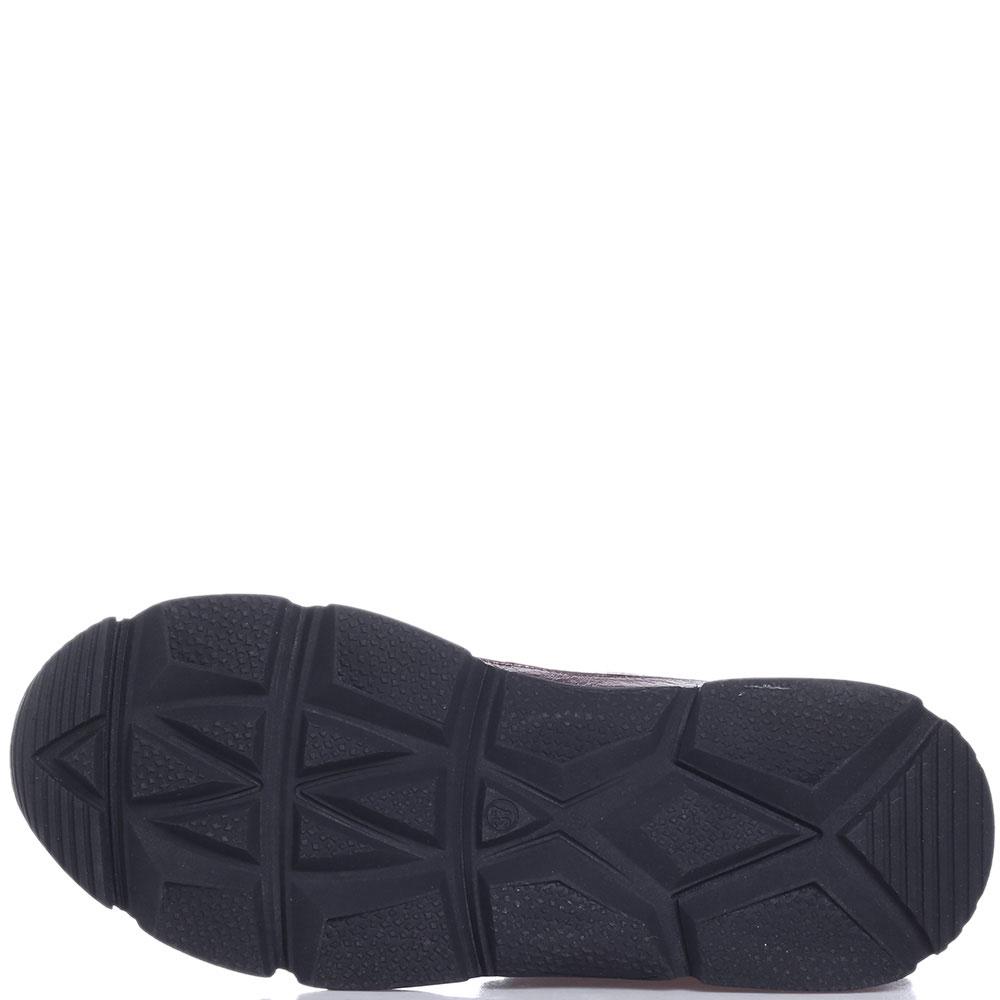 Женские ботинки Roberto Serpentini с шерстяными вставками