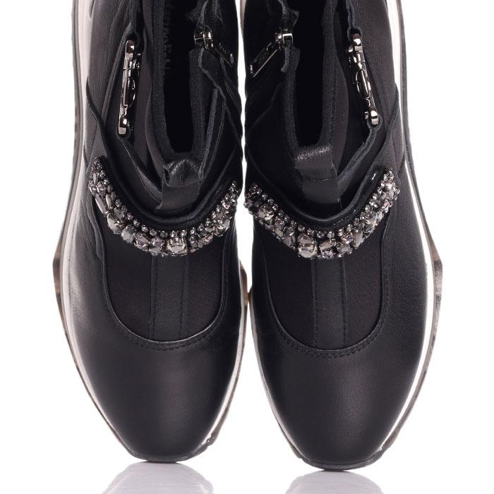 Спортивные ботинки Marino Fabiani с ремешком в стразах