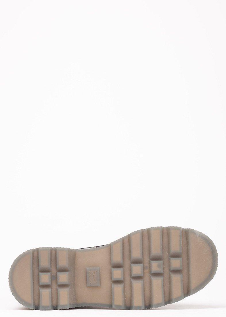 Лаковые ботинки Voile Blanche бордового цвета