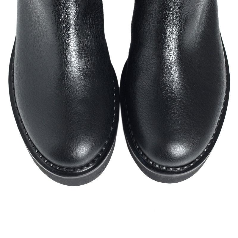 Черные ботфорты Ballin на меху