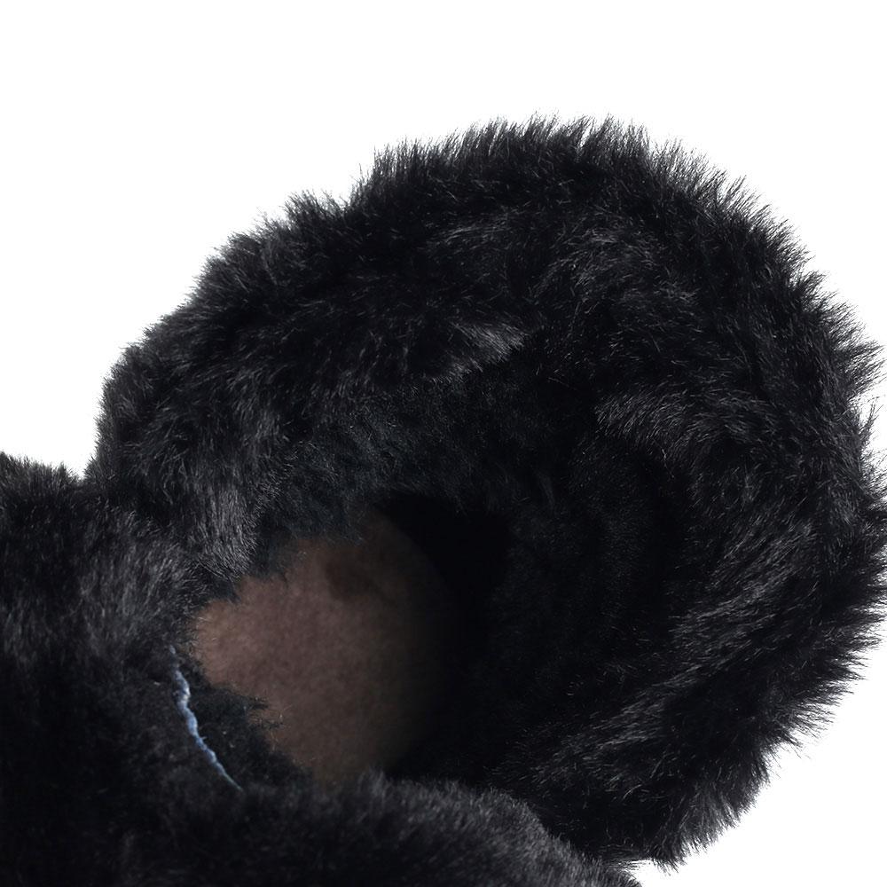 Замшевые ботинки Bogner черного цвета