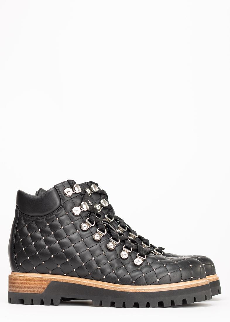 Стеганые ботинки Le Silla St. Moritz Chiffon с металлическими заклепками