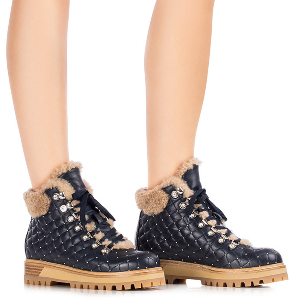 Ботинки Le Silla St. Moritz Chiffon из стеганой кожи