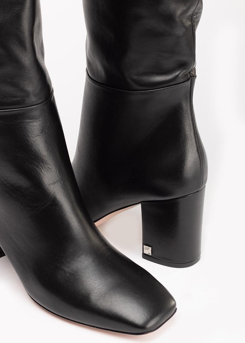 Черные сапоги Ballin с квадратным носком
