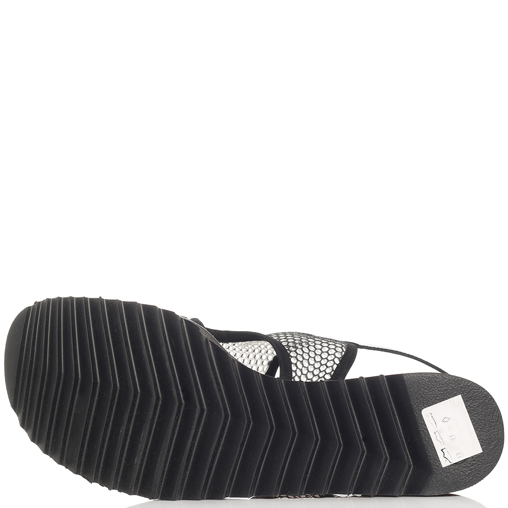 Черные сандалии Thierry Rabotin на липучке