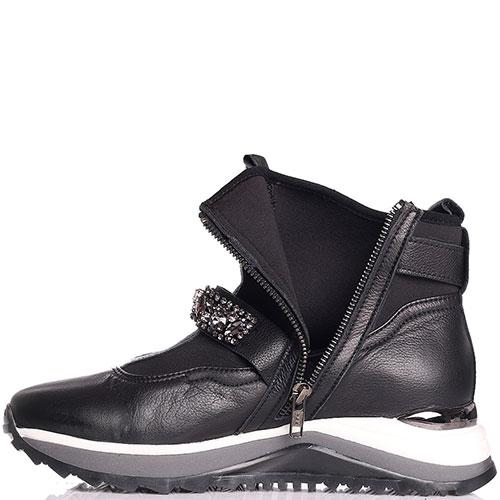Спортивные ботинки Marino Fabiani с ремешком в стразах, фото