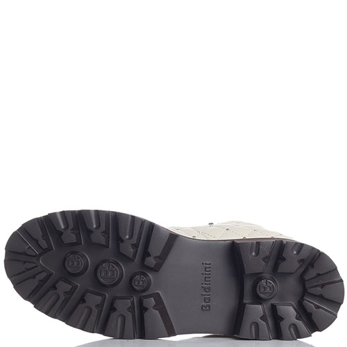 Стеганые ботинки Baldinini кремового цвета, фото
