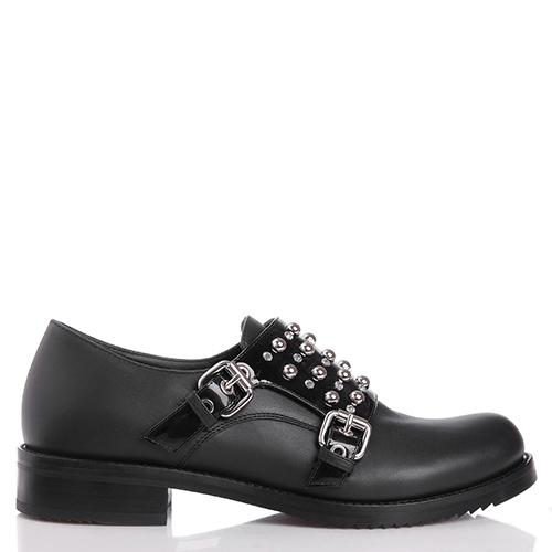 Черные туфли Loriblu с декором, фото