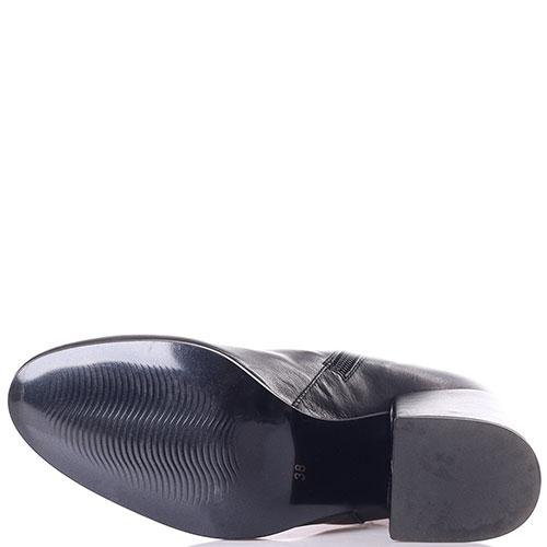 Ботфорты Loretta Pettinari черного цвета, фото