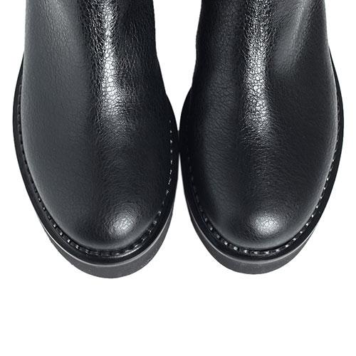 Черные ботфорты Ballin на меху, фото