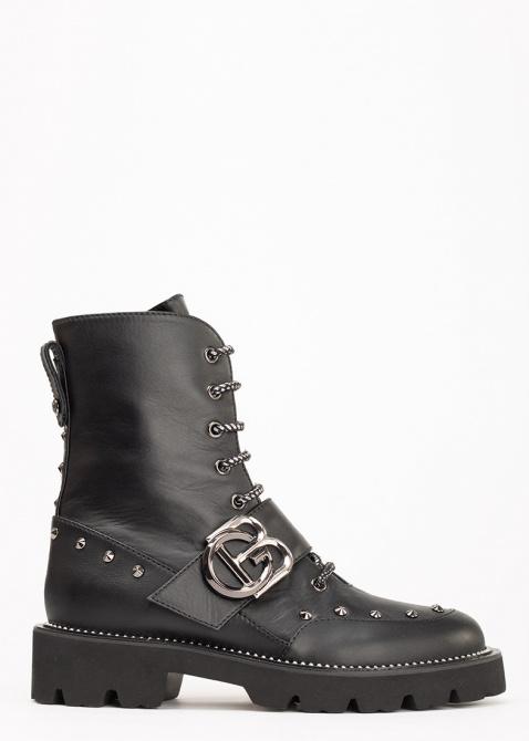 Высокие ботинки Baldinini черного цвета, фото