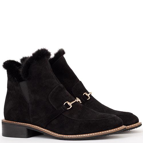 Черные ботинки Tommaso Marino из замши, фото