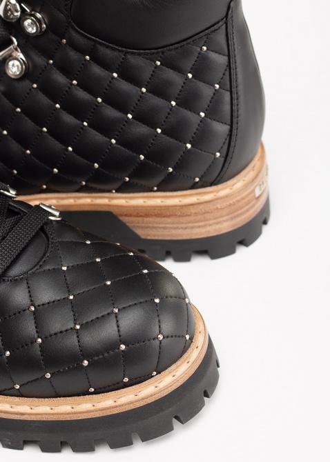 Стеганые ботинки Le Silla St. Moritz Chiffon с металлическими заклепками, фото
