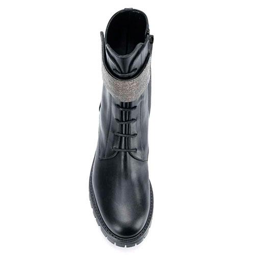 Ботинки Fabiana Filippi из черной кожи, фото