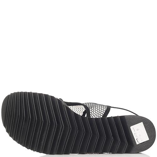 Черные сандалии Thierry Rabotin на липучке, фото