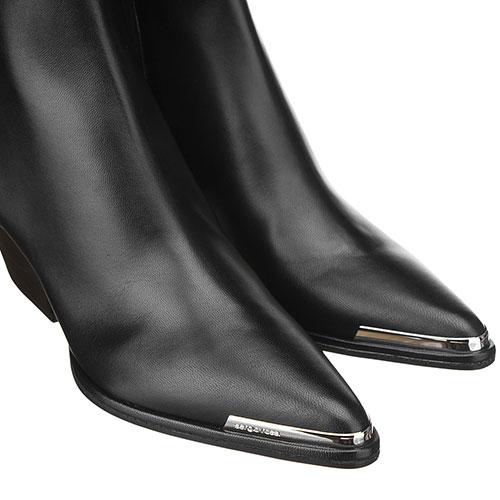 Женские ботильоны Sergio Rossi с острым носком, фото