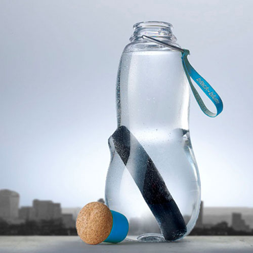Эко-бутылка Black+Blum Eau Good с синим, фото