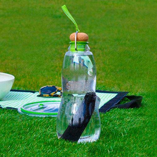 Эко-бутылка Black+Blum Eau Good с зеленым, фото