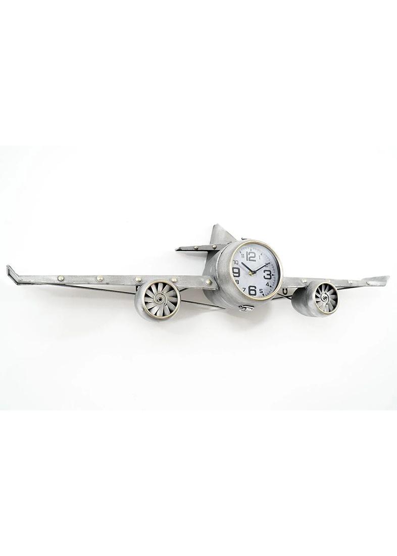 Часы настенные Loft Clocks & Co Steve в виде самолета