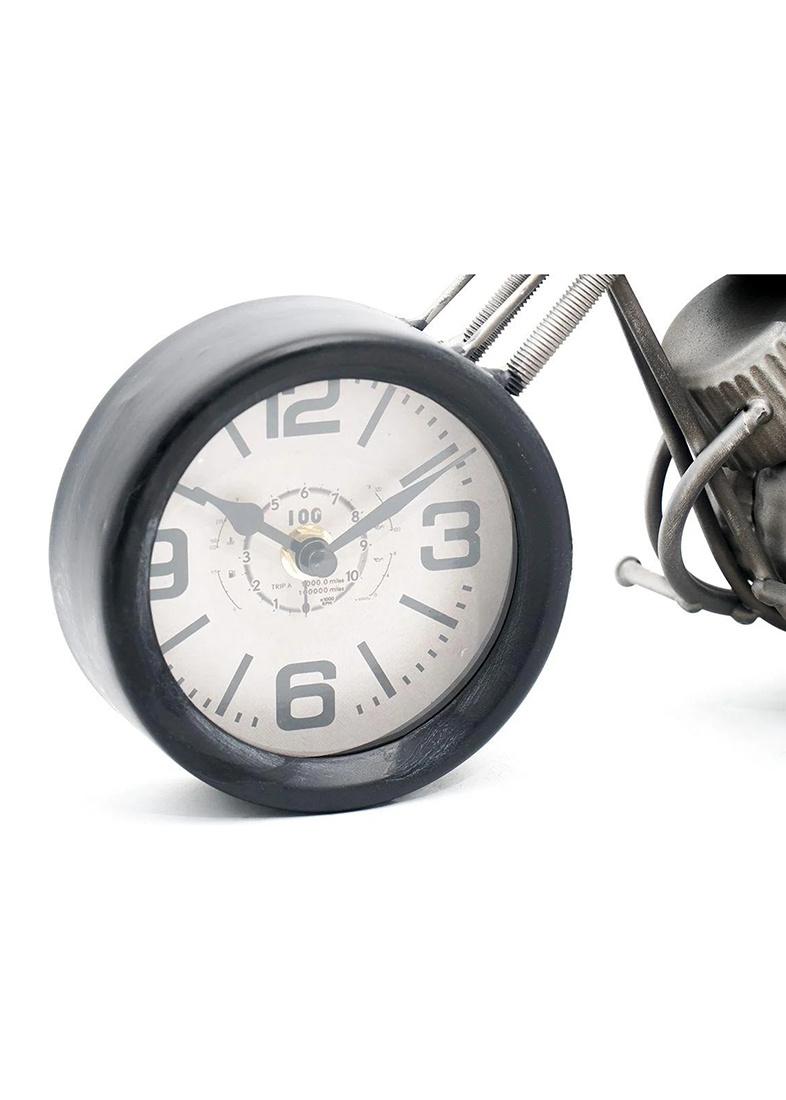 Часы в виде мотоцикла Loft Clocks & Co Orange Chopper