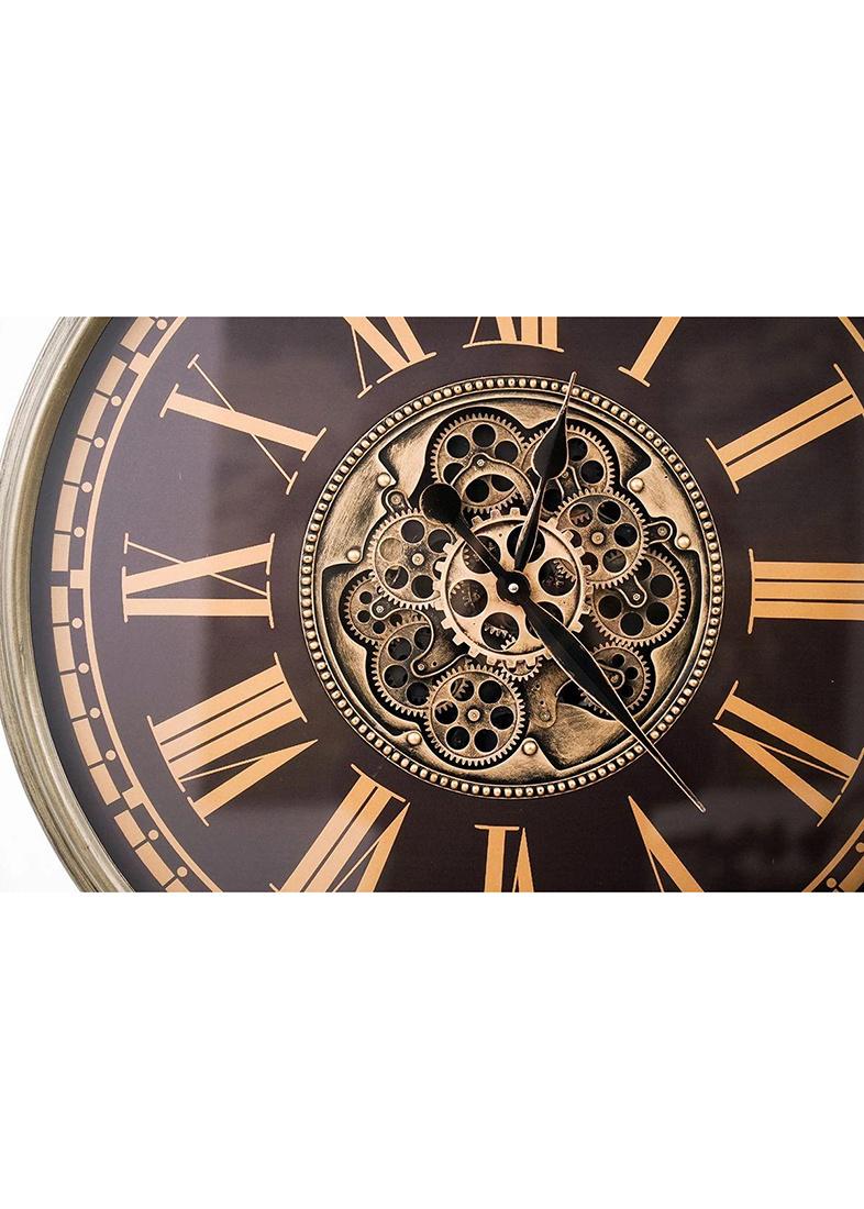 Настенные часы Skeleton Clocks Thom в ретро-стиле