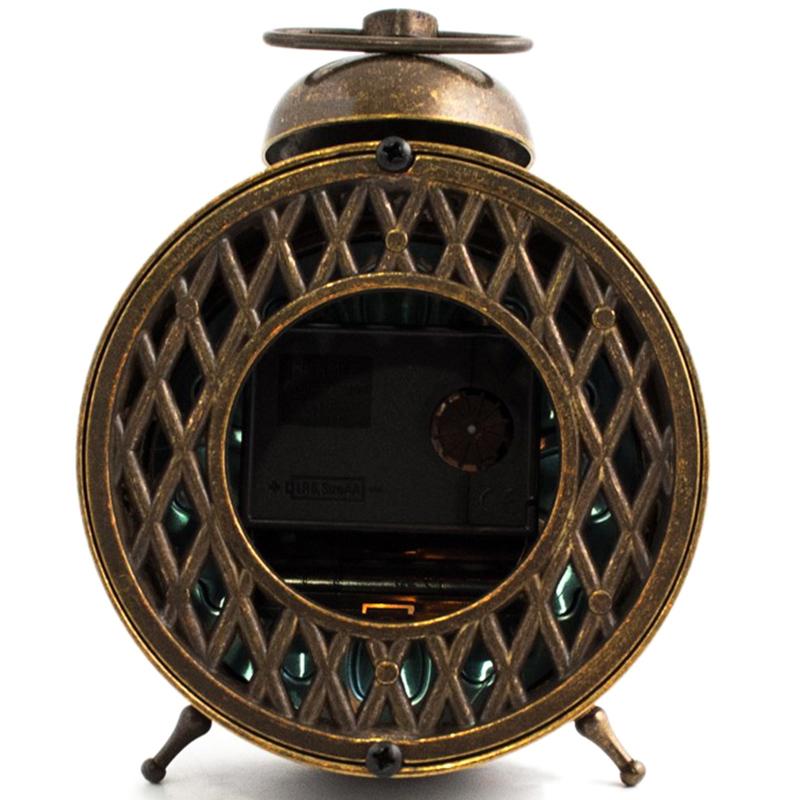 Часы-будильник Alberti Livio Sveglia с рельефным декором на циферблате