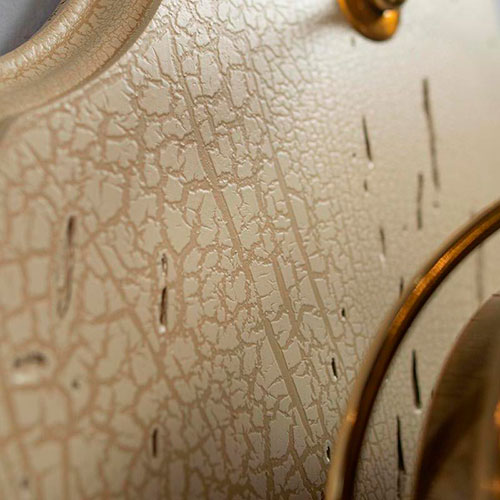 Настенные часы Capanni с элементами из латуни, фото