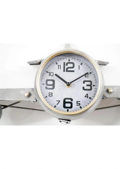 Часы настенные Loft Clocks & Co Steve в виде самолета, фото