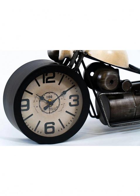 Настольные часы Loft Clocks & Co Bobber в виде мотоцикла , фото