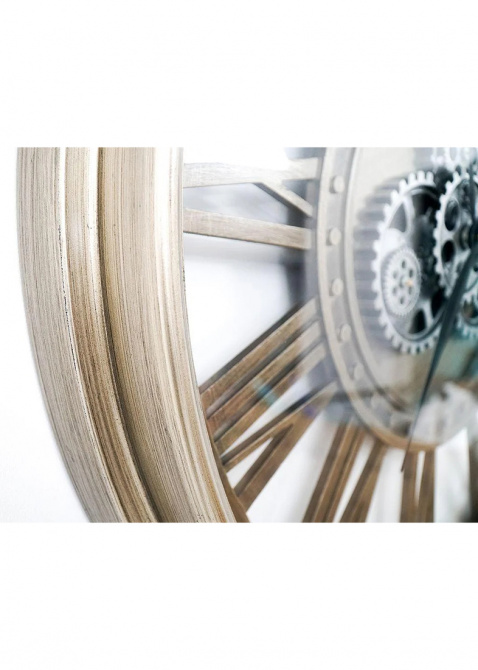 Часы настенные Skeleton Clocks Levi большие, фото