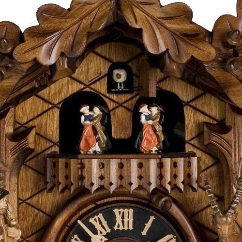 Настенные часы Hoenes с кукушкой 8682-5tko, фото