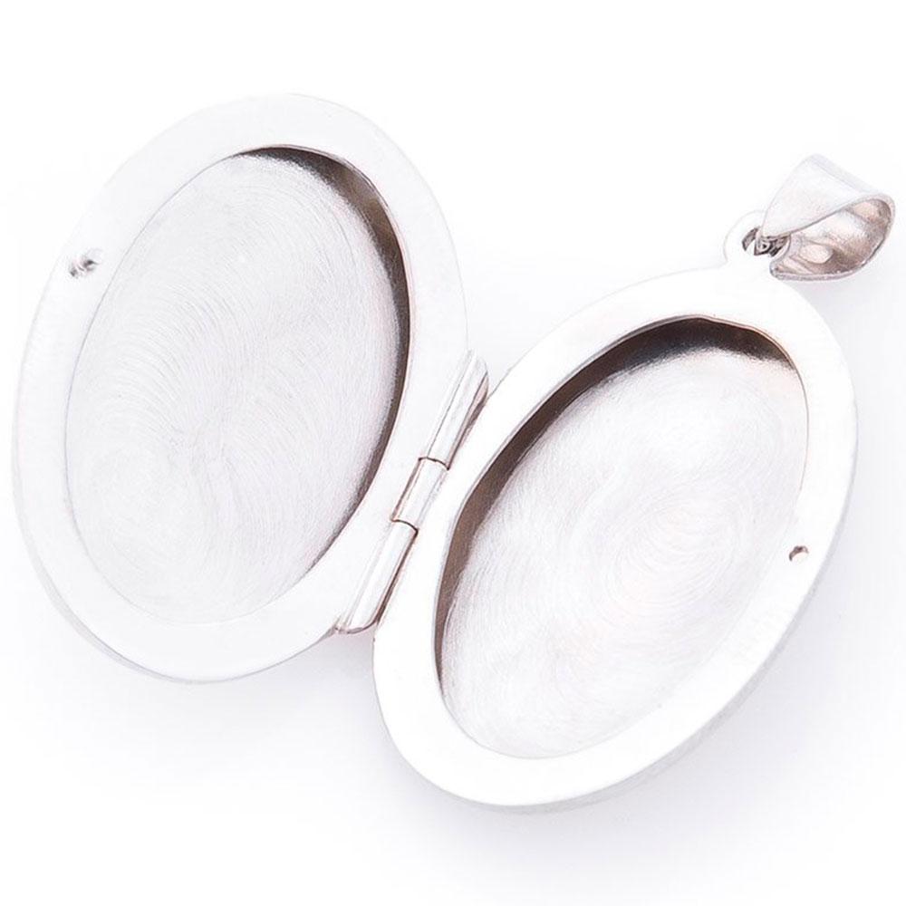 Серебряная подвеска для фотографии