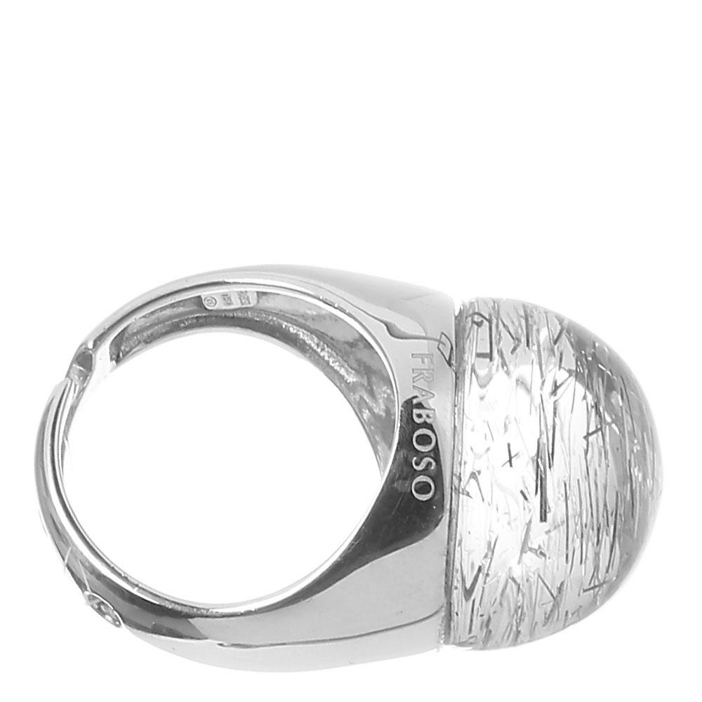 Кольцо Fraboso из серебра с кварцем