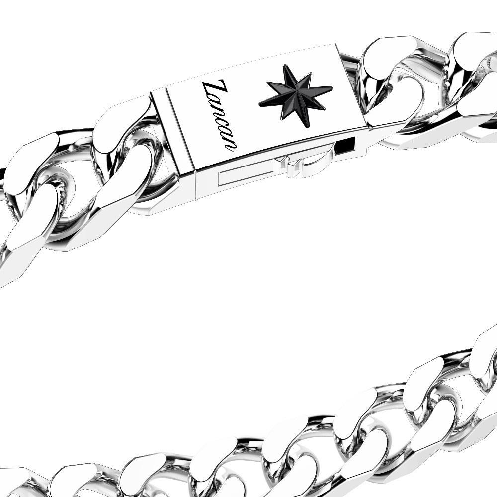 Браслет-цепь Zancan Cosmopolitan из серебра