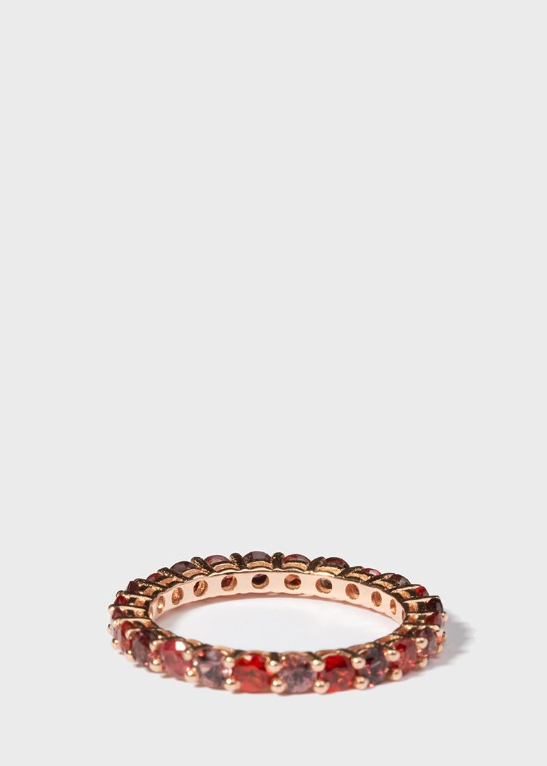Кольцо Gemmis с дорожкой из сапфиров
