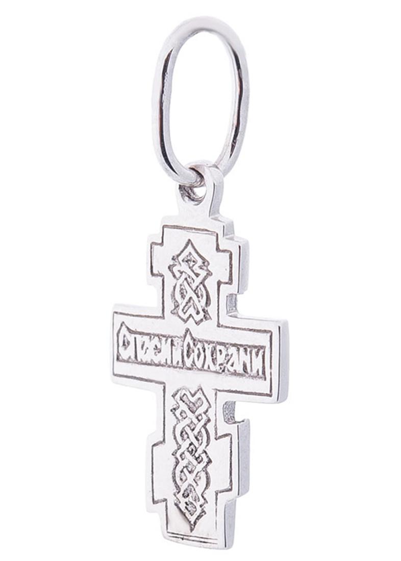 Восьмиконечный крест с родированием